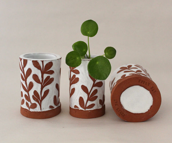 Mini Terracotta Ceramic Plant Pots