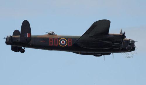 Battle of Britain Flight Avro Lancaster at Margate.