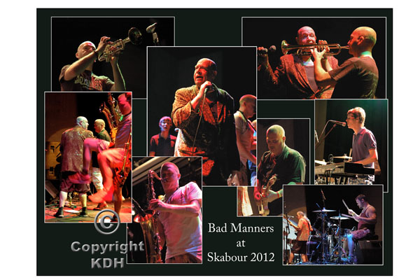 Bad Manners at Skabour 2012 Poster