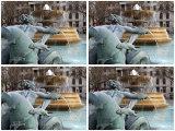 Detail of Trafalgar Square Fountain