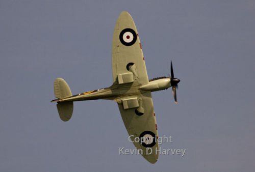 Spitfire MkIX at Charles Rolls' Channel flight  centenary celebrations at Dover, June 6th 2010