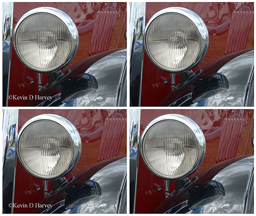 Morris Headlight