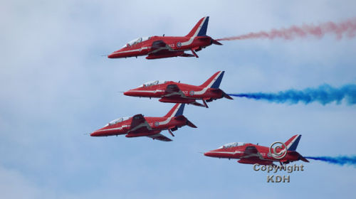 Red Arrows at Margate 2010