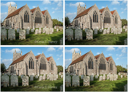 St. Nicholas Church in New Romney in 3d