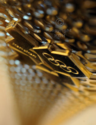 Abstract close up of the Olympic Torch