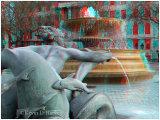 Trafalgar Square Fountain Detail