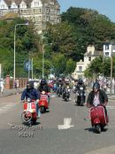 The Scooter Run on Saturday lunchtime