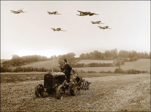 Somewhere Over England 1945