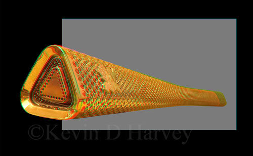 The 2012 Olympic Torch in 3D.