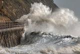 Storm Imogen at Folkestone