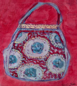Red Ribbon Handbag