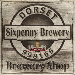 Sixpenny Brewery Entrance Sign