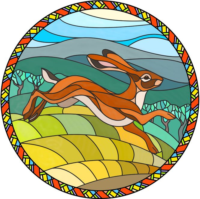 Hare In Glass