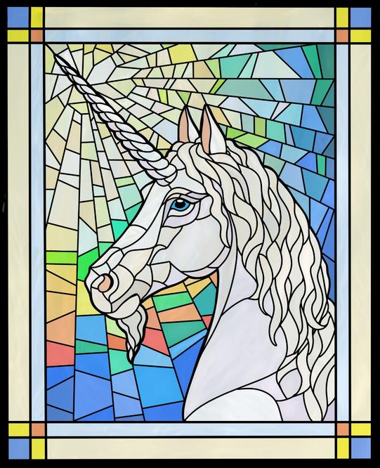 Unicorn In Glass