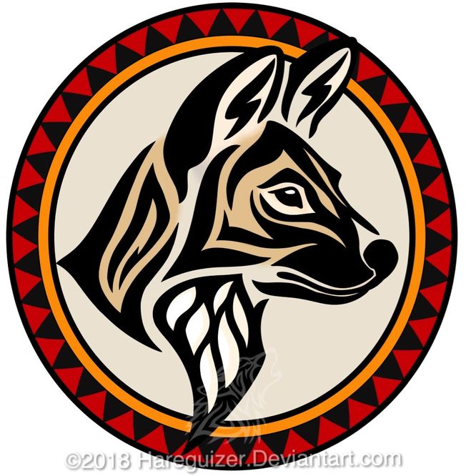 Painted Wolf Emblem