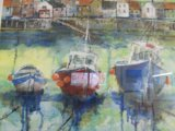 Fishing boats at Staithes, Yorkshire