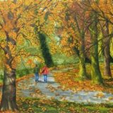 Autumn Morn Roath Park