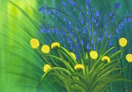 Dandelions & Bluebells