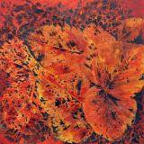 Orange Leaf Study I