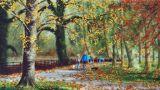 Autumn Walk II Roath Park