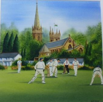 Cricket at the Cathedral