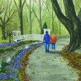 A Spring Walk, Roath Park Flower Gardens