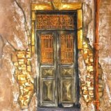 Old Doorway Greece