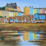 Tenby Harbour Reflections