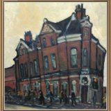 Manchester icon Star and Garter pdf oil on panel 20x20.