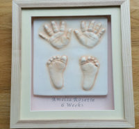 2D Prints-Framed feet and hands