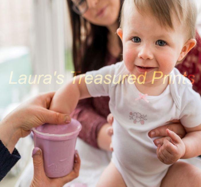 Baby's Hand in Alginate