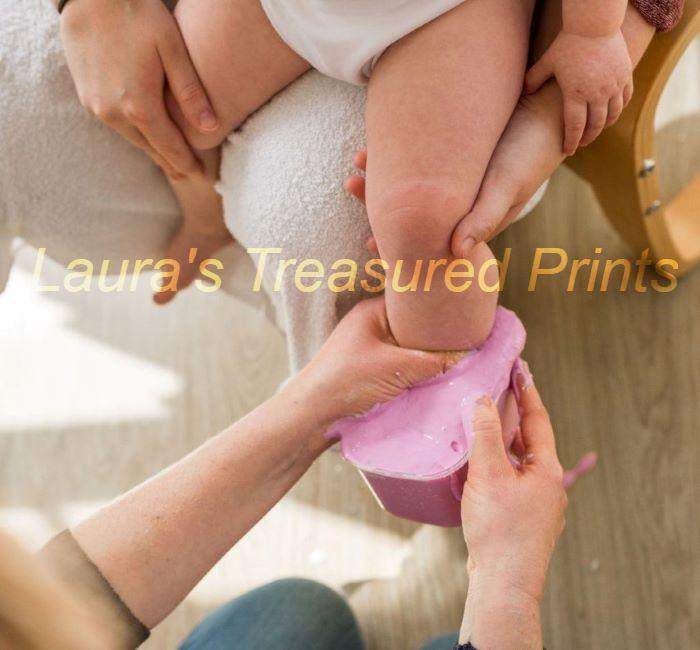 Baby's Foot in Alginate