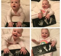 2D Babyprint baby model 2