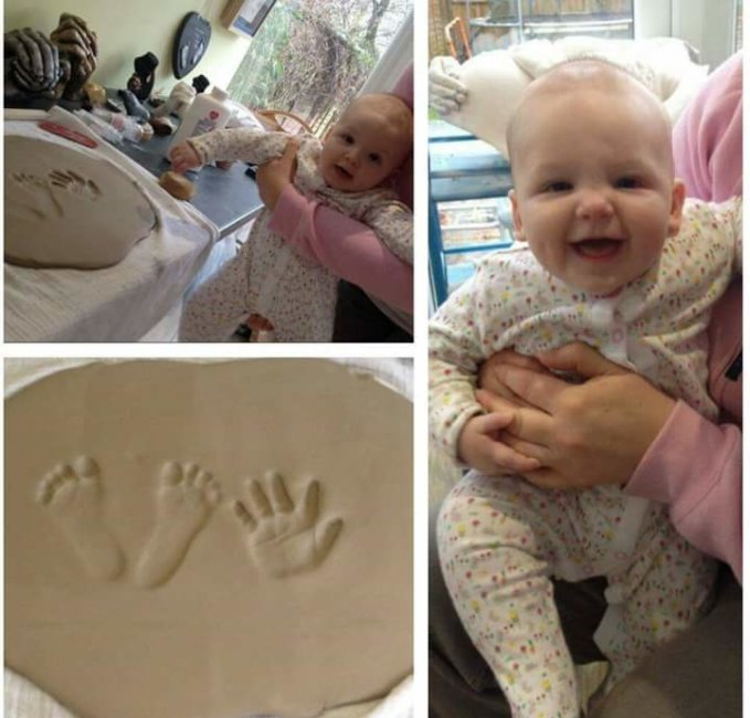 2D Babyprint baby model 1