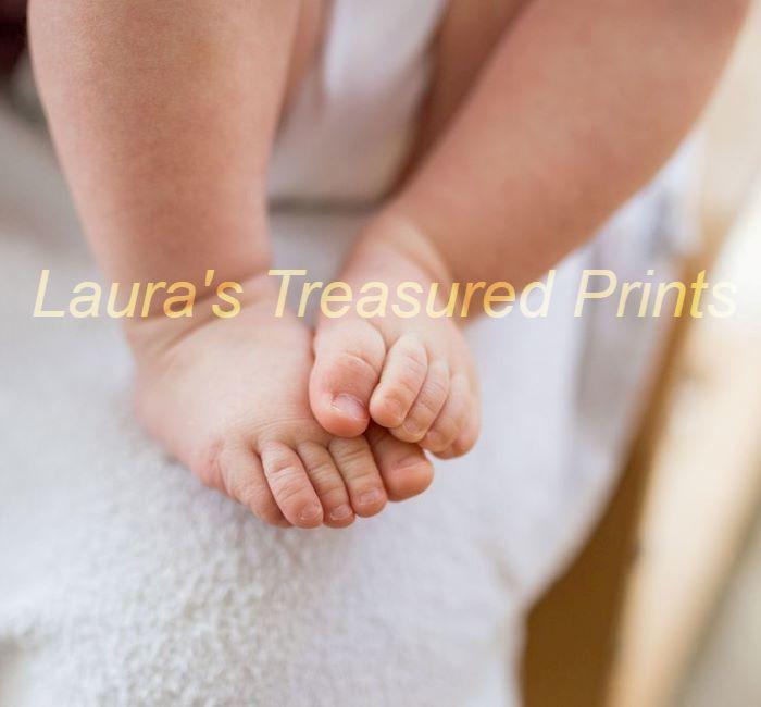 Gorgeous baby Feet