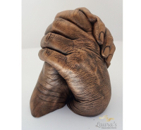 Couples hand cast
