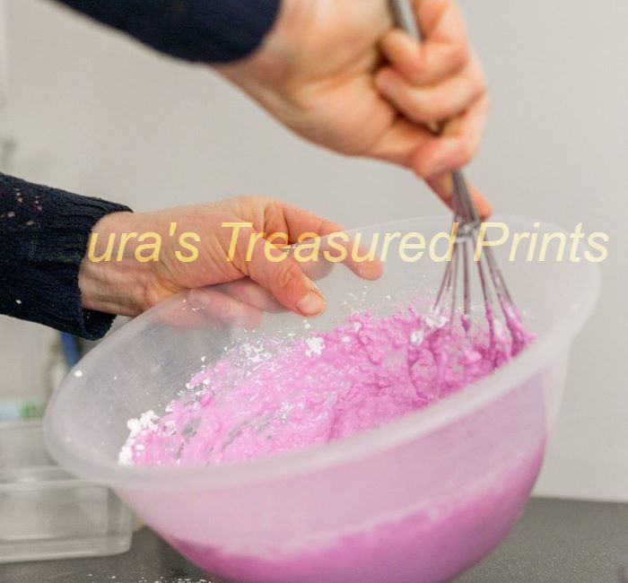 Mixing the Alginate