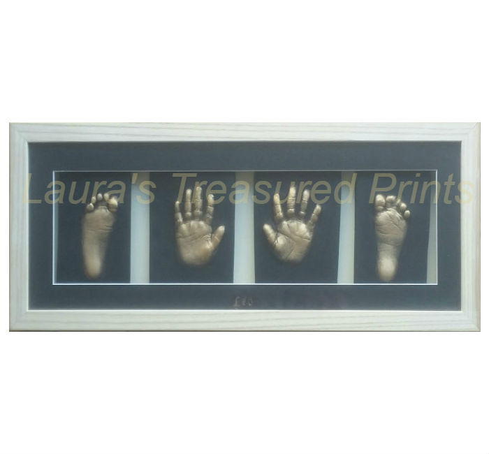 Full set (hands & feet) of 2D Prints with your choice of frame- from £180-£185