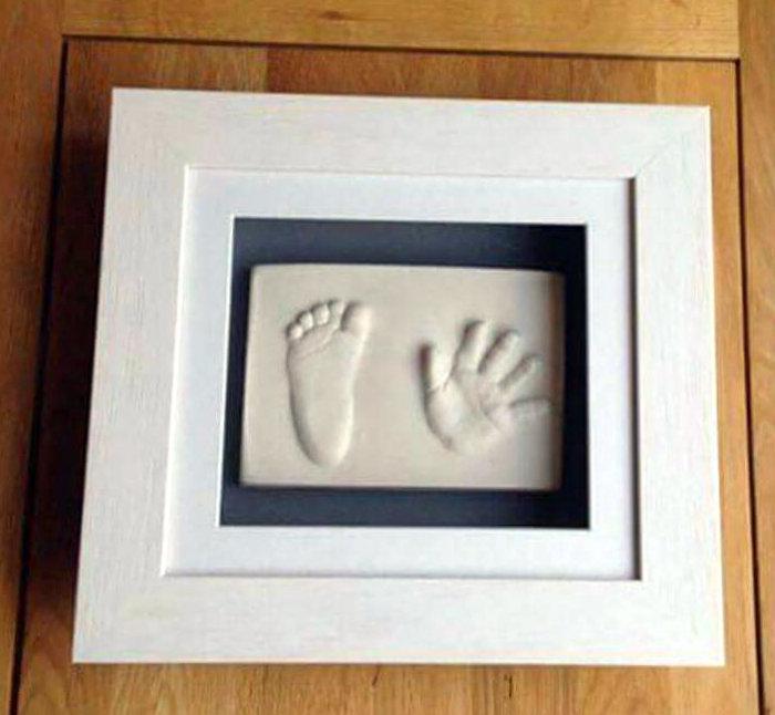 2D Framed Hand & Foot Print