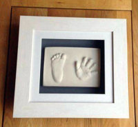 2D Framed Hand & Foot Print