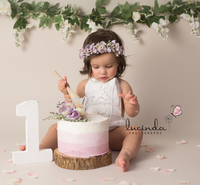 Cake Smash- Lucinda's Photography