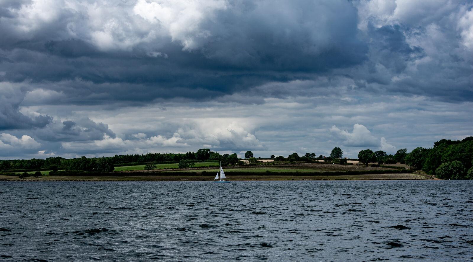 Boat on Rutland Water--Carrie Woodhead--1