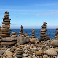 Cairns on Lindisfarne