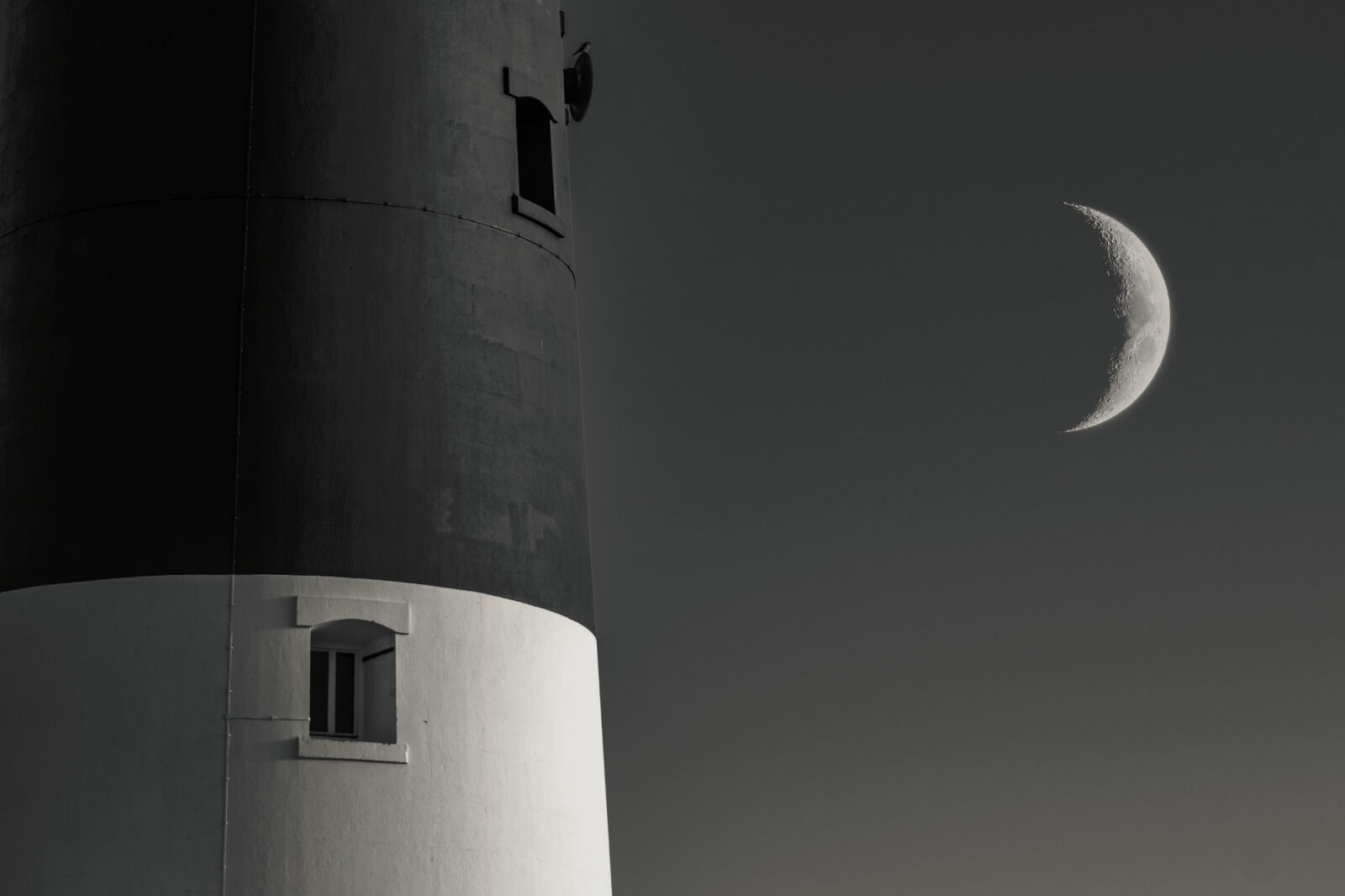 Group B - Commended - Last Light at the Lighthouse - Mark Phillips
