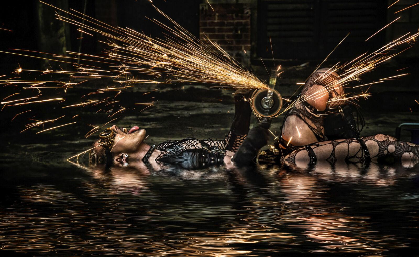 Third - Spark Shower - Martin Janes