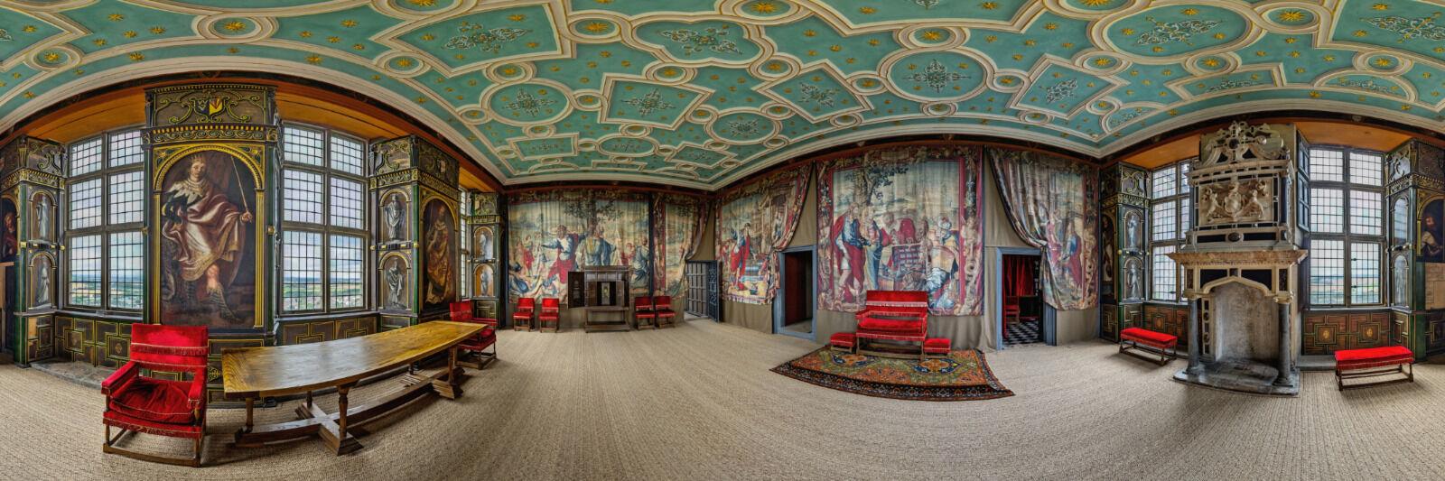 Letterbox - Second - Star Chamber - Bolsover Castle - Andrzej Jablonski