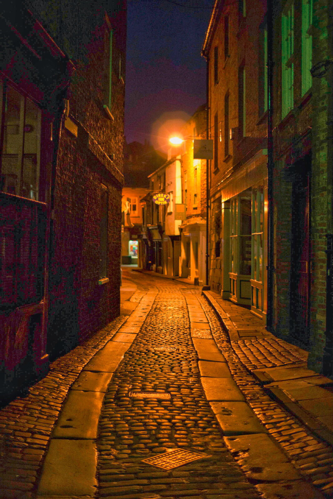 Group C - Highly Commended - Down the Alley - Mike Helft