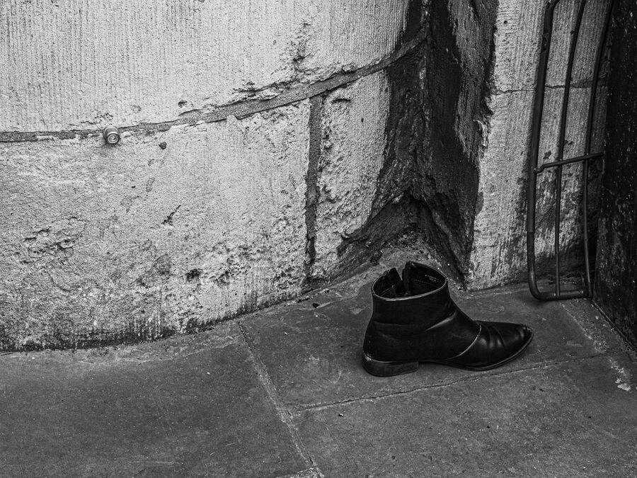 Left Boot - David Walters