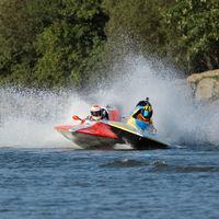 Powerboat Argy-Bargy - Mark Dudley