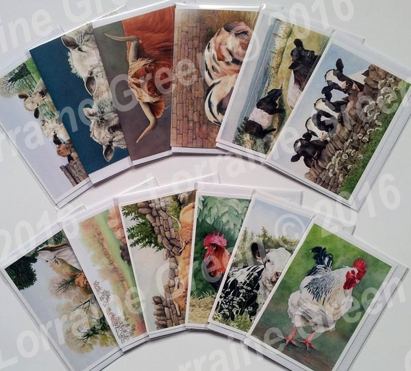 Greeting Cards - 5 Cards for £6 (buy 4 get 1 free)